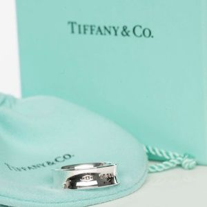 Tiffany & Co. Sterling Silver 1837 Band 7 Ring